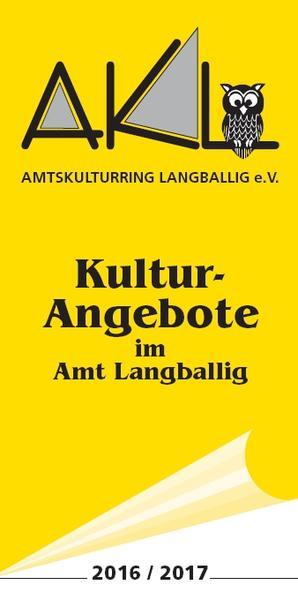Kulturangebot 2016/2017