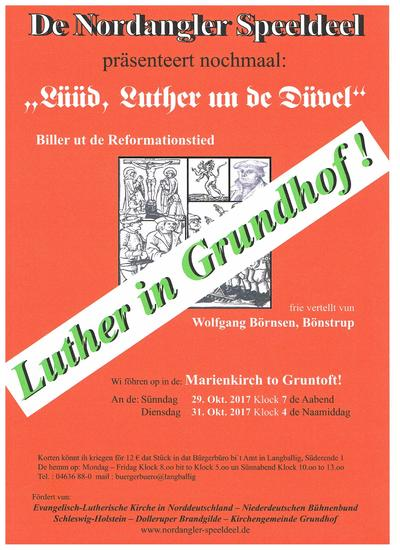 Lüüd, Luther un de Düvel